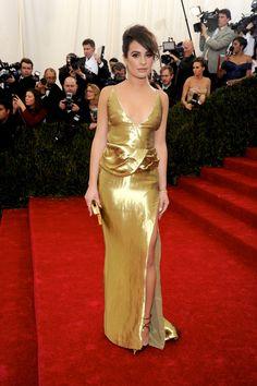 Met Gala 2014.   Having a Ball - Lea Michele