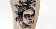 diseños tatuajes frida kahlo - Buscar con Google