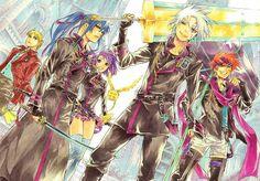 Tags: Anime, Scan, D.Gray-man, Allen Walker, Lavi, Yu Kanda, Howard Link & Lenalee Lee