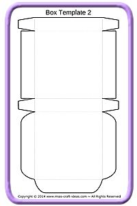 Die cutting image of cylinder box templates for Write my own will template