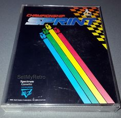 Championship Sprint: CONDITION:- GREAT COMPATIBILITY:- ZX SPECTRUM 48k+/128K RANGE FORMAT:- Cassette CASE/BOX TYPE:- Double Cassette /… Cassette, Spectrum, Jewel, Computers, Electronics, This Or That Questions, Type, Retro, Box