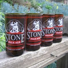 Four Stone Brewery Pale Ale Glasses