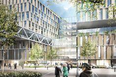 Riget by aarhus arkitekterne #danisharchitecture #scandinavianarchitecture #hospital #healthcare #aarhusarkitekterne