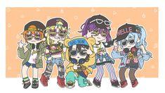 Hello happy world bang dream kokoro misaki hagumi kaoru bandori anime Anime Girl Neko, Manga Girl, The Kingdom Of Magic, Tokyo Mew Mew, I Love Games, Cute Chibi, Comics Girls, Kokoro, Girl Bands