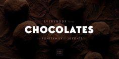 Font dňa – TT Chocolates (od 2,40€, rodina 22,50€) - http://detepe.sk/font-dna-tt-chocolates-od-240e-rodina-2250e/