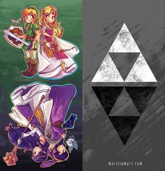 The Legend of Zelda | A Link Between Worlds by Pucca