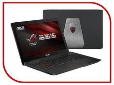 Ноутбук ASUS GL552VW-CN867T 90NB09I1-M10950 (Intel Core i7-6700HQ 2.6 GHz/8192Mb/1000Gb/DVD-RW/nVidia GeForce GTX 960M 2048Mb/Wi-Fi/Bluetooth/Cam/15.6/1920x1080/Windows 10 64-bit)  — 64089 руб. —