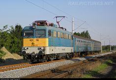 RailPictures.Net Photo: 116 Hungarian State Railways (MÁV) 431 / ex-V43 at Békéscsaba, Hungary by Máté Szilveszter Bahn, Commercial Vehicle, Locomotive, Hungary, Trains, Electric, Vehicles, Europe, Rolling Stock