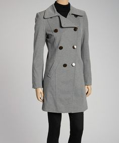 Take a look at this Heather Gray Claire Jacket by G.E.T. on #zulily today!