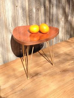 Small tripod  french vintage coffee table by VINTAGEorangeBAZAR