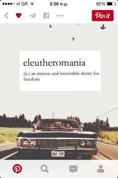 Eleutheromania#