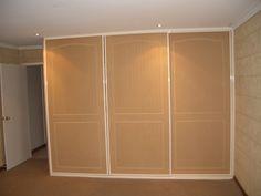 wardrobe doors ready to paint