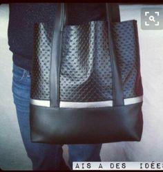 DIY mon sac fait main que j'aime très fort ! Coin Couture, Couture Sewing, Diy Handbag, Diy Purse, Diy Fashion, Fashion Bags, Sacs Tote Bags, Diy Sac, Diy Bags Purses