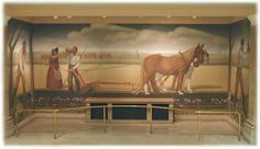 Grant Wood Mural: When Tillage Begins Grant Wood Paintings, Artist Grants, Frederic Remington, American Gothic, Iowa State, Short Trip, Public Art, Places To See, Art Projects
