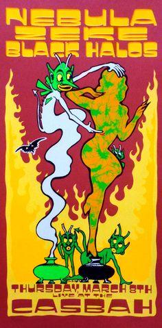 2001 Nebula poster by Lindsey Kuhn.