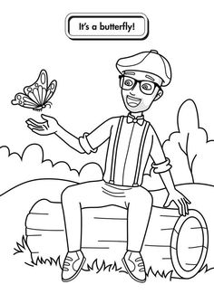 Blippi coloring pages are now available 24 Blippi coloring sheets of the animals and machines. These pictures are easy to draw and coloring for toddlers. Tractor Coloring Pages, Monster Truck Coloring Pages, Free Kids Coloring Pages, Blank Coloring Pages, Free Printable Coloring Sheets, Coloring For Kids, Coloring Books, Coloring Worksheets, Tractors For Kids
