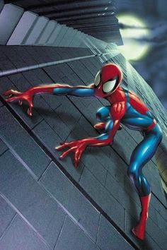 Ultimate Spiderman, Mark Bagley the best artist! Amazing Spiderman, Spiderman Art, Spiderman Symbiote, Marvel Art, Marvel Heroes, Marvel Ultimate Spider Man, Mark Bagley, Black Cat Marvel, Spectacular Spider Man