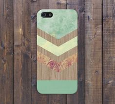 Chevron Green Marble x Fall Harvest Wood Case for iPhone 6 6 Plus iPhone 5 5s 5c iPhone 4 4s Samsung Galaxy s5 s4 & s3 and Note 4 3 2