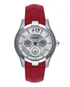 Relógio Multi-Função I Feminino - Vermelho