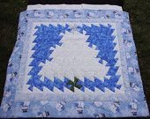 """Quilted Holiday Wall Hanging/Table Topper - """"Lil Twister Christmas Tree"""""""