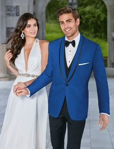 Tailor Made Blue Blazer Black Waistcoat And Pants 3 Pieces Groom Tuxedos Slim Fit Mens Wedding Prom Dinner Party Suits 2016 Blue Tuxedo Wedding, Prom Tuxedo, Wedding Suits, Wedding Tuxedos, Wedding Band, Black Waistcoat, Tuxedo Jacket, Tuxedo Suit, Woman Fashion