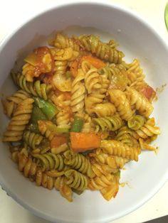 Veggie rotini pasta