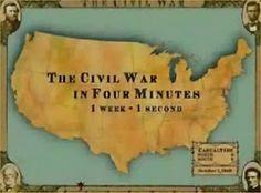 US History Teachers Blog: Civil War in Four Minutes--Nice