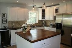 dark kitchen cabinets with islands ideas 2013 - Google Search