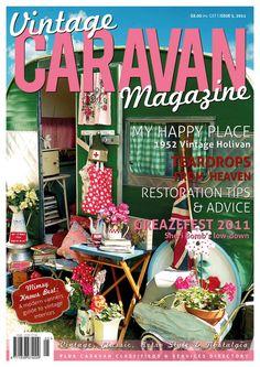 Vintage Caravan Magazine Issue 5 Vintage camper by magicangelisa, $8.00