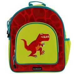 Kids Backpack – School, Camping or Travel Back Pack Bag (T-Rex)