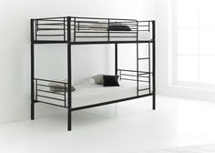 Happy Beds Cherry Quality Metal Bunk Bed 3ft Single 2x Mattress Home Furniture Aiden and gavins room