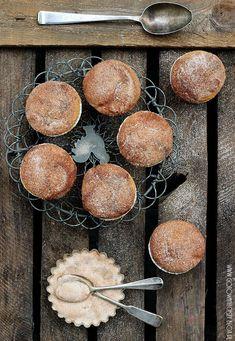 Muffins de calabaza con nutella