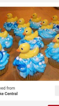 Cupcakes de patitos