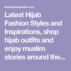 Beautiful Hijab Style For Special Occasions - Hijab Fashion Inspiration Hijab Fashion Inspiration, Style Inspiration, Head Scarf Styles, Hijab Tutorial, Beautiful Hijab, Hijab Outfit, Hijab Styles, Muslim, Special Occasion