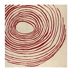 EIVOR CIRKEL Teppich Kurzflor IKEA Dichtgewebter Teppich mit dichtem Flor; wirkt geräuschdämmend; angenehm, darauf zu laufen.