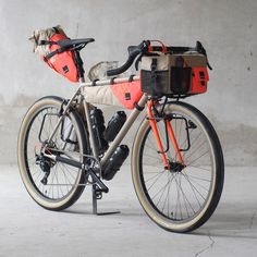 """1,228 Likes, 40 Comments - fern bicycles (@fern_bicycles) on Instagram: """"Gramm X Fern Showbike 2017  @gramm_tourpacking"""""""