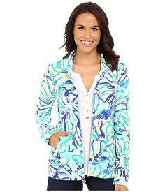 Lilly Pulitzer Women's 20020 : Reagan Zip up * This is an Amazon Affiliate link. Visit the image link more details.