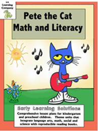 A mini-theme unit based on the literature selection Pete the Cat I Love My White Shoes. Lots of follow-up fun activities.