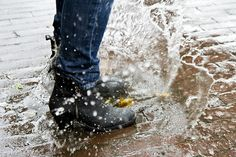 Splashing around in mud puddles in a rain storm with your Wellies on is the happiest feeling in the world! ♡♡♡♡♡♡