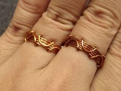Handmade jewelry tutorials - Wire Jewelry Lessons - DIY - How to make bubble ring
