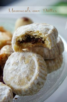 recette maamoul at DuckDuckGo Easy Cookie Recipes, Sweet Recipes, Dessert Recipes, Easy Recipes, Arabic Sweets, Arabic Food, Biscuit Cookies, Yummy Cookies, Cookies Healthy