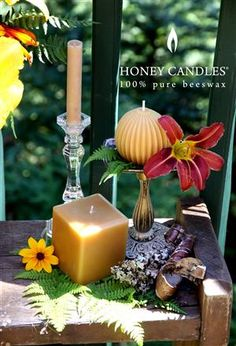 Candle lovers - do you want something extraordinary? Do you have a special event coming up soon? Try beeswax Honey Candles® Square Pillars! Find out why we are selling more than ever before!