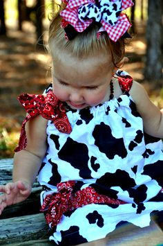 cowgirl pillowcase dress. OH MY GOSH that is too adorable.