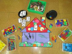 Escuela con Vida Math Games, Preschool Activities, Busy Bags, Kids Rugs, Letters, Crafts, Kids Math, Educational Games, Activities