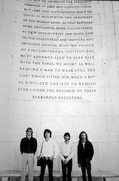 The Doors Visit Jefferson Memorial - Ghosts of DC Los Doors, The Doors Jim Morrison, The Doors Of Perception, Jefferson Memorial, Occult Symbols, I Can Do Anything, American Poets, Human Mind, Old Soul