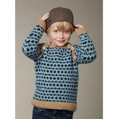 111 Børnesweater med raglan og skrå knaplukning fra caMaRose - Køb garn og opskrift til børnesweater med raglan og skrå lukning fra caMaRose her