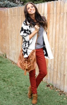 Loving this Aztec cardi over at xoxo cleverly, yours