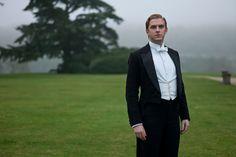 Matthew Crawley, heir to the Earl of Grantham. #DowntonAbbey