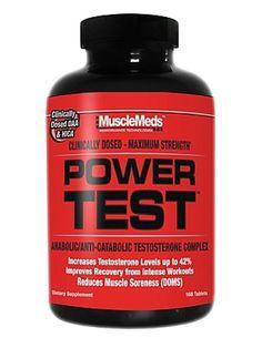 MuscleMeds Power Test