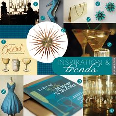 Retro New Year's Eve Party Inspiration - Inspiration & Trends